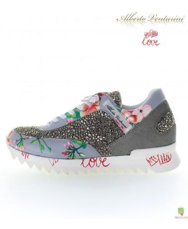 Graue Sneaker ''Eternal Love''