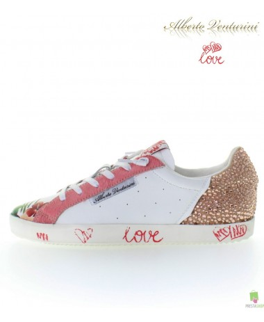Pink sneakers ''Pure Love''