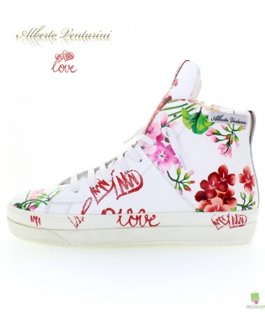 White sneakers ''Crazy Love''