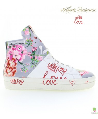 Graue Sneaker ''Crazy Love''